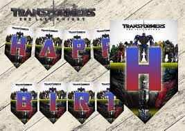 printable transformers birthday banner transformers birthday banner transformers birthday party