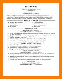 Secretary Resume Templates 15 Free Resume Samples Xavierax