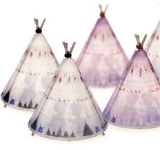 teepee lamp blue grey u2013 out of the cot