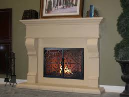 fireplace surround kit home design