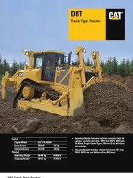 manual de operac y mantto tractor d8t cat