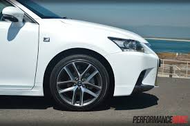 lexus sport 2014 lexus ct 200h f sport review video performancedrive