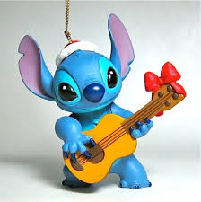 stitch ukelele ornament grolier from our
