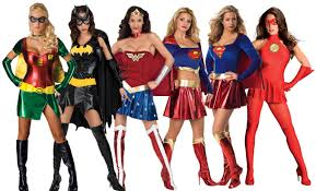 the female superhero squad halloween costume cute female