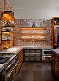 Kitchen  Kitchen Counters And Backsplash Ideas Copper Backsplash - Copper backsplash