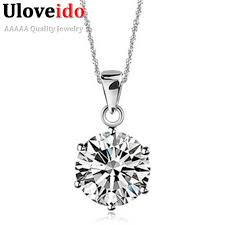 s day pendants necklaces pendants women cubic zirconia jewelry