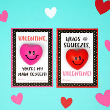 valintine cards squishy heart cards happiness is