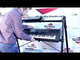 Griffin Piano Bench Griffin Triple Keyboard Stand 3 Tier A Frame Holder Product Review