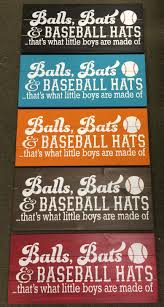 Baseball Bedroom Decor Distressed Baseball Decor Baseball Signs By Sandjbargainvault