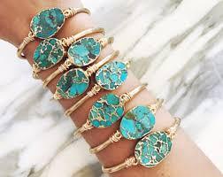 cuff bracelet with stones images Cuff bracelet etsy jpg