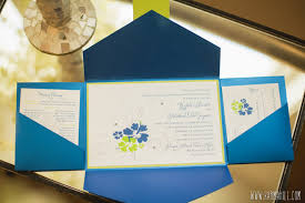 wedding invitations island royal blue and lime green wedding invitations we like design