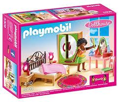 chambre playmobil playmobil 5309 chambre d adulte avec coiffeuse amazon fr jeux