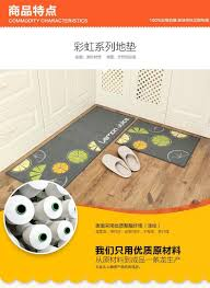 modern kitchen mat 2pcs modern kitchen rugs anti slip hallway balcony mat