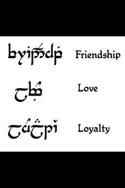 friendship rings meaning unfinished tales on the bright side elvish friendship tattoo