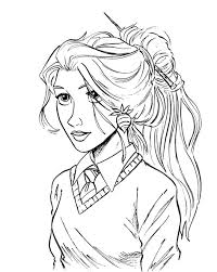 ginny weasley coloring pages 6 images of luna harry potter coloring pages harry potter and