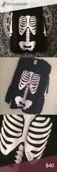 Halloween Skeleton Top by Vs Pink Skeleton Longsleeve Nwt Vs Pink Skeletons And Dark