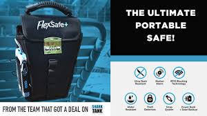 Flexsafe the ultimate portable travel safe by aquavault
