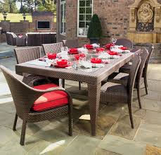 Extendable Dining Table Seats 10 Expandable Outdoor Dining Table Furniture Expandable Outdoor Patio