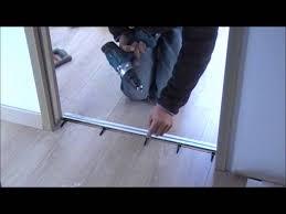 comment poser une porte de chambre comment poser une barre de seuil