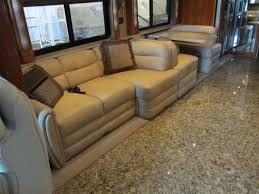 rv sleeper sofa living room travel trailer sofa sleeper in comfy rv lets you to