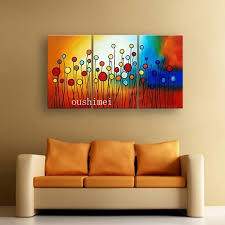 Living Room Art Canvas by Handmade Abstract Oil Painting For Living Room Feng Shui Paintings