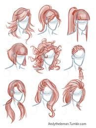 sketches of hair the 25 best drawing reference ideas on pinterest drawing poses