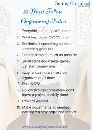 free stuff checklists life gets organized