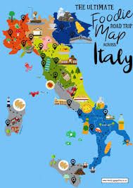 Lake Cuomo Italy Map by The Ultimate Map Of What To Eat In Italy And Where Hand Luggage