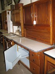 furniture gorgeous antique hoosier cabinet with glass doors for