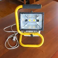 500 watt halogen light georgesworkshop work light led retrofit