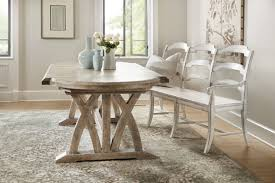 hooker furniture dining room boheme colibri 88in trestle dining