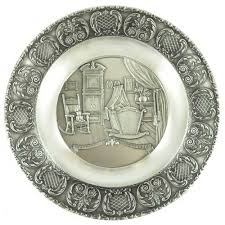 pewter birth plates personalized personalized pewter birth plate findgift