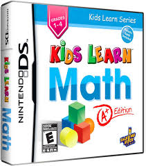 amazon com kids learn math a edition nintendo ds american