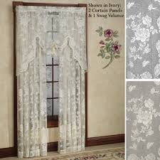 alluring rue de france lace curtain panels panel curtains french