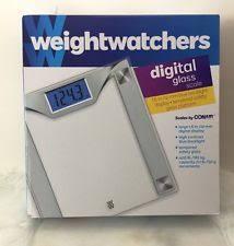Weight Watchers Bathroom Scale Battery Weight Watchers Ww37gd Digital Glass Scale By Conair Ebay