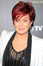 sharon osbournes haircolor dlisted sharon osbourne behaves badly at the the 41st daytime