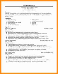 resume templates for sales associate surprising resume templates