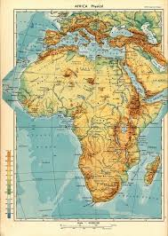 Blank Physical Map Of Africa by Geography And History Blog Africa Physical Map
