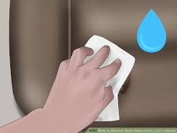 Car Interior Upholstery Cleaner 3 Ways To Remove Soda Stains From A Car U0027s Interior Wikihow