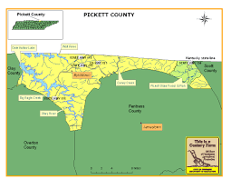 Tennessee Highway Map by Pickett County Tennessee Century Farms