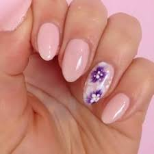 40 simple and clean almond nail designs naildesignideaz