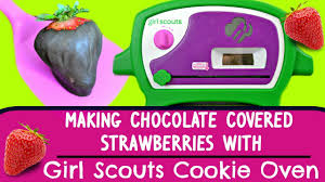 Chocolate Covered Strawberries Tutorial Scouts Cookie Oven Making Chocolate Covered Strawberries