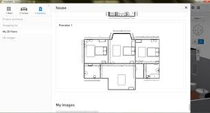 Home Floor Plans Pictures by Free Floor Plan Software Homebyme Review