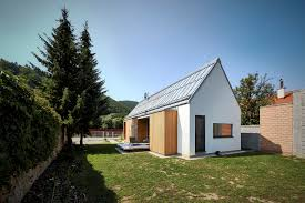 house unique modern cabin plans with sloping roof design for eco