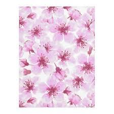 style flower cherry blossom watercolor fleece blanket floral style flower