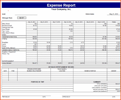 Detailed Expense Report Template by 8 Business Report Template Bookletemplate Org