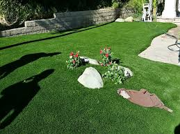 Fake Grass For Backyard by How To Install Artificial Grass Beaumont California Backyard Deck