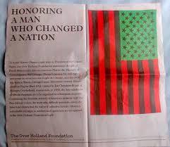 Barack Obama Flag David Hammons Flag Honors Barack Obama In Chicago U2014 A Gathering Of