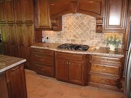Traditional Kitchen Backsplash Ideas - kitchen luxury tumbled stone kitchen backsplash traditional