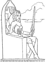 she ra coloring pages 26 best vintage coloring pages images on pinterest